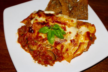 Traditional Homemade Lasagne