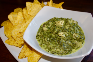 spinach dip, spinach dip recipe, spinach and artichoke dip, spinach and artichoke dip recipe, party food, party dip, sharing dip