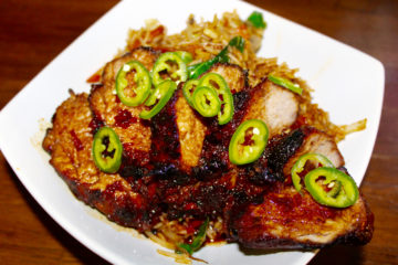 Chinese BBQ Pork Fillet with Special Fried Rice