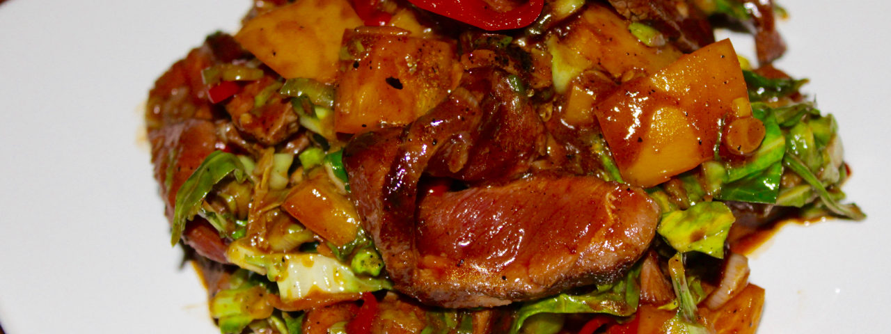 Sriracha Asian Steak Stir Fry