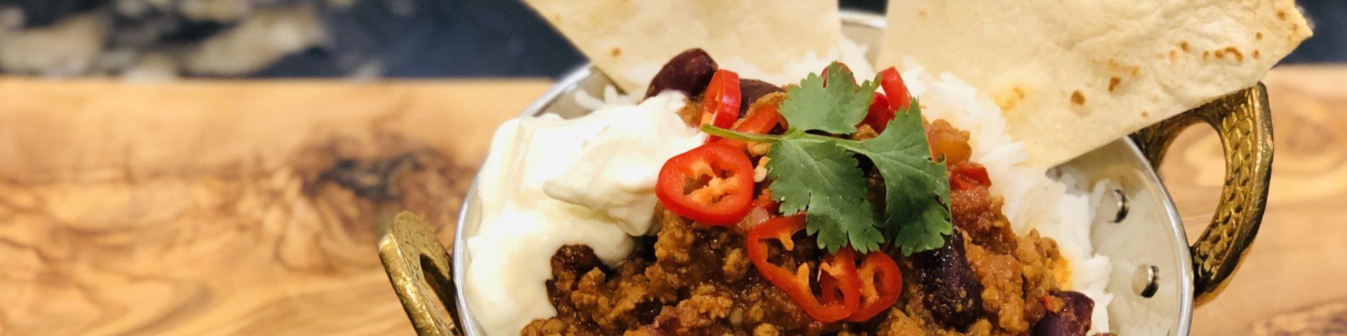 Chilli con carne recipe - The Food Beaver