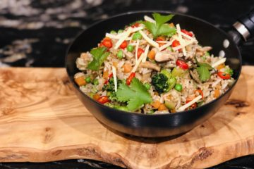 Special Fried Rice - vegan and allergen free recipe